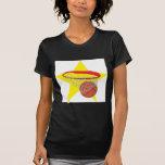 ¡Estrella del baloncesto!  Personalizable: Camisetas