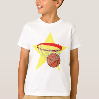 ¡Estrella del baloncesto!  Personalizable: Remeras