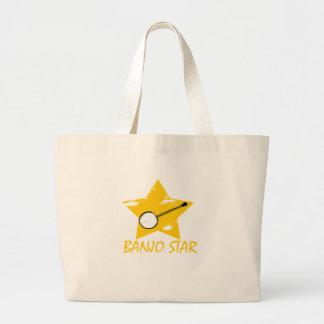Estrella del banjo bolsa