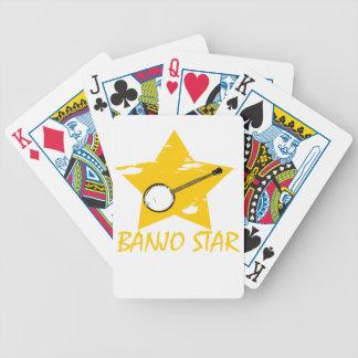 Estrella del banjo baraja