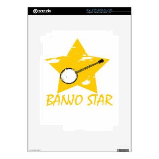 Estrella del banjo skins para eliPad 2