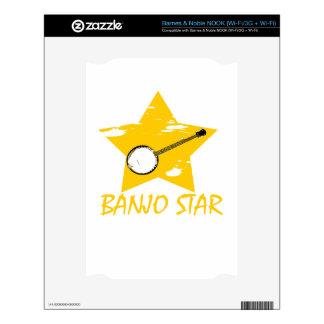Estrella del banjo NOOK skins