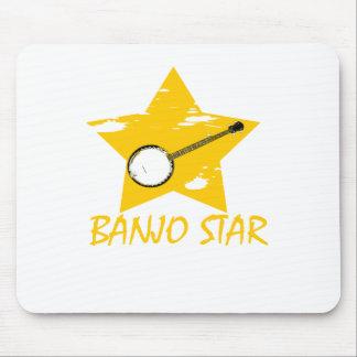 Estrella del banjo tapete de raton
