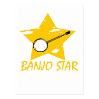 Estrella del banjo postal