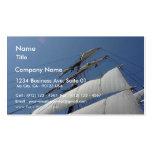 Estrella del barco de velas de la nave de la India Tarjeta De Negocio