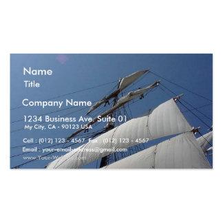 Estrella del barco de velas de la nave de la India Tarjetas De Visita