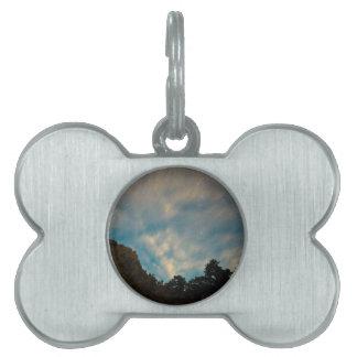 Estrella del barranco de Colorado que mira Placas Mascota