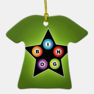 Estrella del bingo ornamento de reyes magos