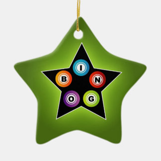Estrella del bingo ornamente de reyes