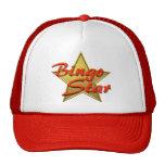 Estrella del bingo gorras