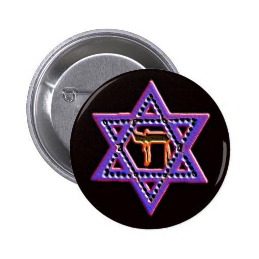 Estrella del botón de David Chai Pins