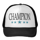 estrella del campeón gorra