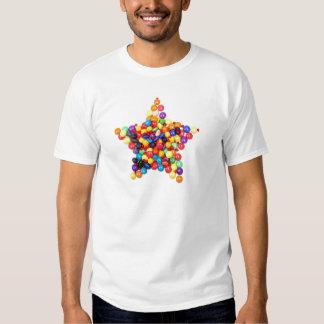 Estrella del caramelo playeras