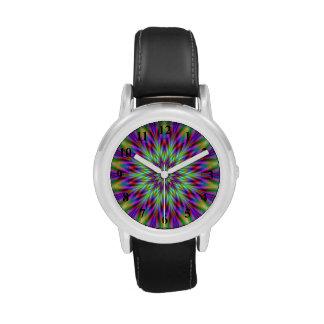 Estrella del cardo relojes de pulsera