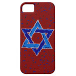 Estrella del caso del iphone 5 de David apenas iPhone 5 Case-Mate Protector