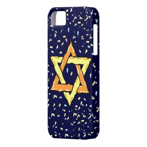 Estrella del caso del iphone 5 de David apenas iPhone 5 Funda
