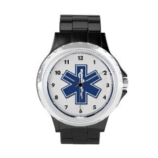 Estrella del ccsme de la vida relojes de mano