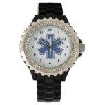 Estrella del ccsme de la vida relojes de pulsera