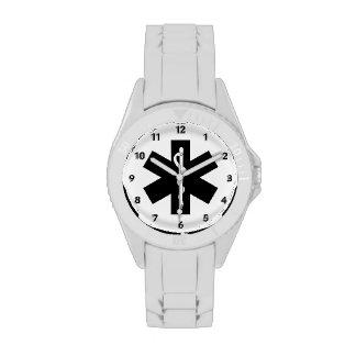 Estrella del ccsme relojes de pulsera