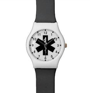 Estrella del ccsme reloj de mano