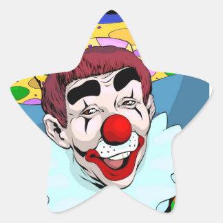 Estrella del circo de Whizzo Colcomanias Forma De Estrella