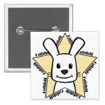 Estrella del conejo pins