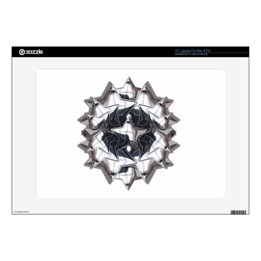 Estrella del cromo portátil 38,1cm skins