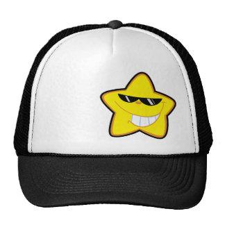 Estrella del dibujo animado Rugoso Gorra