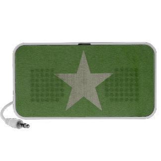 Estrella del ejército iPhone altavoces