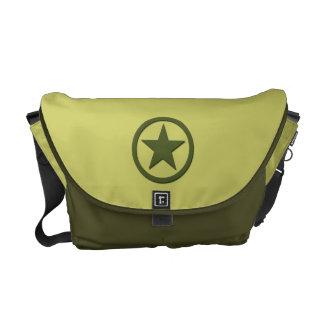 Estrella del ejército bolsas messenger