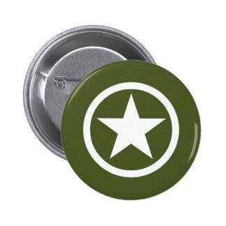 Estrella del ejército pins