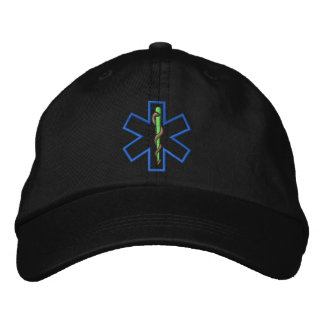 Estrella del esquema de la vida gorras bordadas