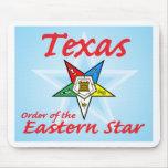 Estrella del este de Tejas Tapete De Raton