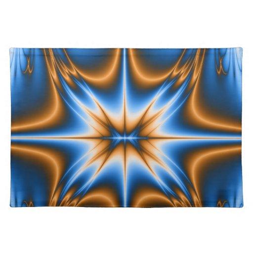Estrella del fractal de Navajo Mantel Individual