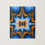 Estrella del fractal de Navajo Puzzles Con Fotos