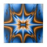 Estrella del fractal de Navajo Teja