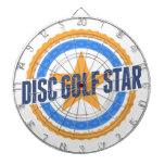 Estrella del golf del disco tablero dardos