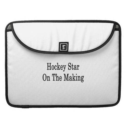 Estrella del hockey en la fabricación funda macbook pro