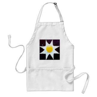 """""""Estrella del huevo """" Delantal"""