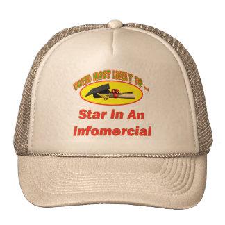 Estrella del Informercial Gorra