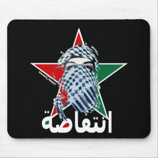 Estrella del Intifada Tapetes De Raton