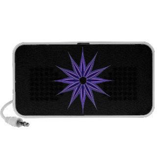 Estrella del invierno iPod altavoz