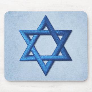 Estrella del israelí de David Mousepad
