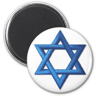 Estrella del israelí judío de David Imán Redondo 5 Cm