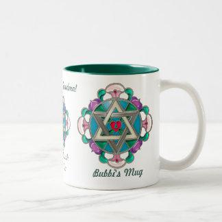 Estrella del jardín (taza personalizada) taza de dos tonos