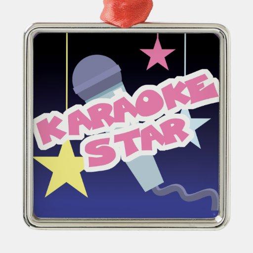 estrella del Karaoke Ornamento Para Reyes Magos