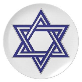 Estrella del KRW de la placa de David Jánuca Plato