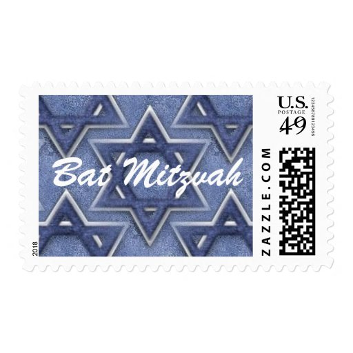 Estrella del KRW del palo Mitzvah de David Estampillas