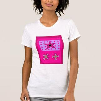 Estrella del laurel en rosa playera