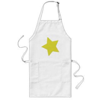Estrella del limón delantal largo